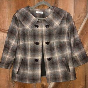 Laura plus petite brown blazer